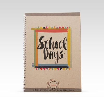 RhiCreative School Days Book - nursery decor