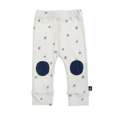 Anarkid Starry Night Patch Leggings Lily White - nursery decor
