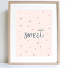 Berry Sweet Print - nursery decor