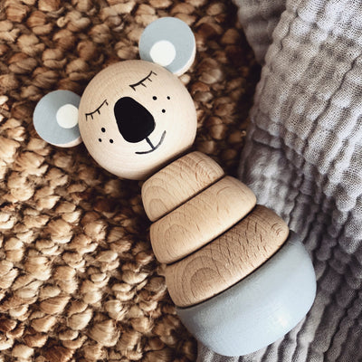 Wooden Stacking Puzzle Koala - Sydney - Sweet Little Dreams
