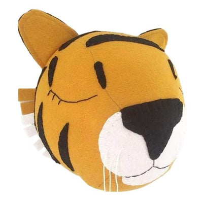 Tiger- Wall Mounted Animal Head - nursery decor