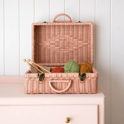 Olli Ella Toaty Trunk- Rose - nursery decor