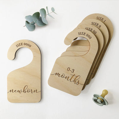 Baby Wardrobe Dividers - nursery decor