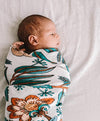 Wattle And Gum Swaddle - nursery decor