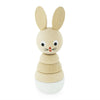 Wooden Stacking Puzzle Rabbit - Bonnie - nursery decor
