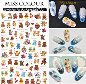 Nail Sticker - Design MC024 - Emerson Crystals