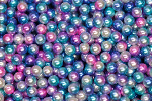 Blue Pearl Beads