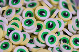 LARGE EYEBALL FIMO PIECES