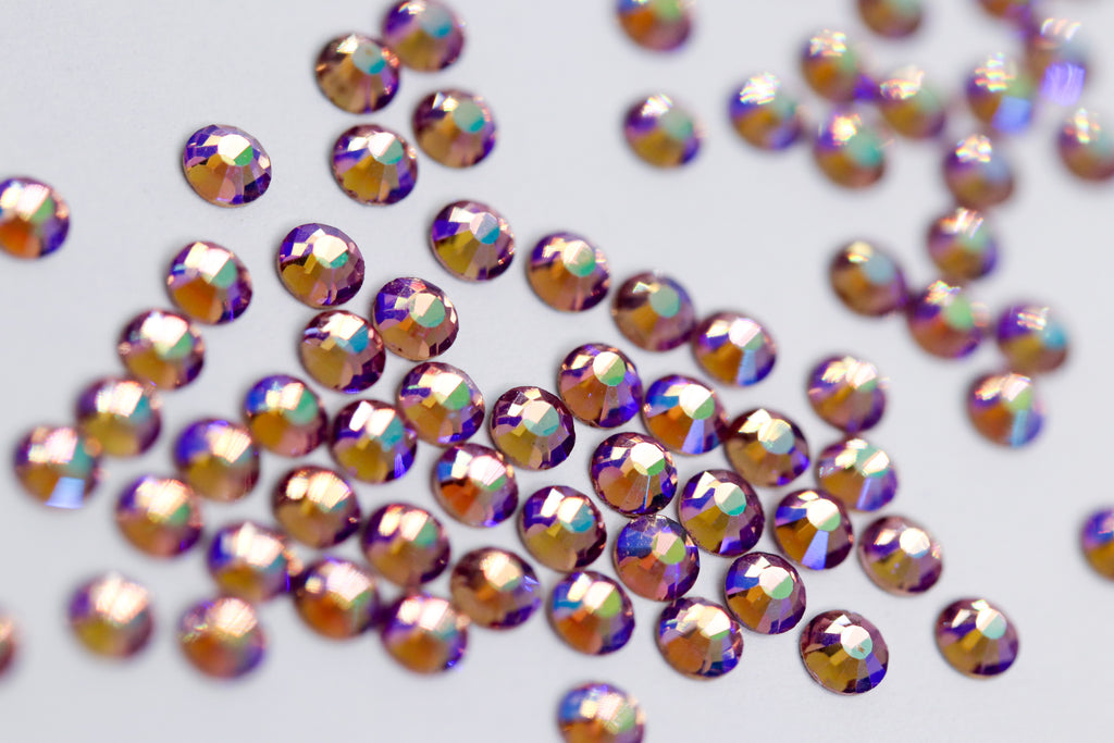Light Amethyst AB SS10 (Unicorn Lab Rhinestones)