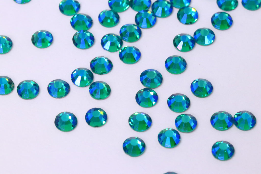 Blue Zircon AB SS10 (Unicorn Lab Rhinestones)