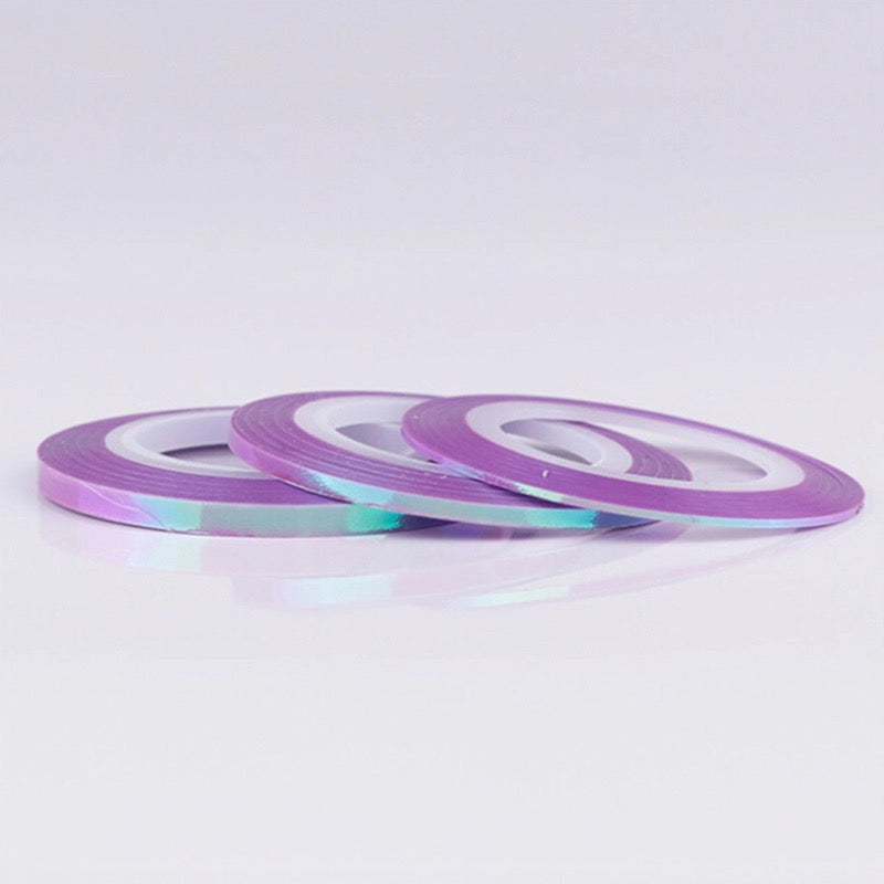 3mm Purple Mermaid Tape - Emerson Crystals