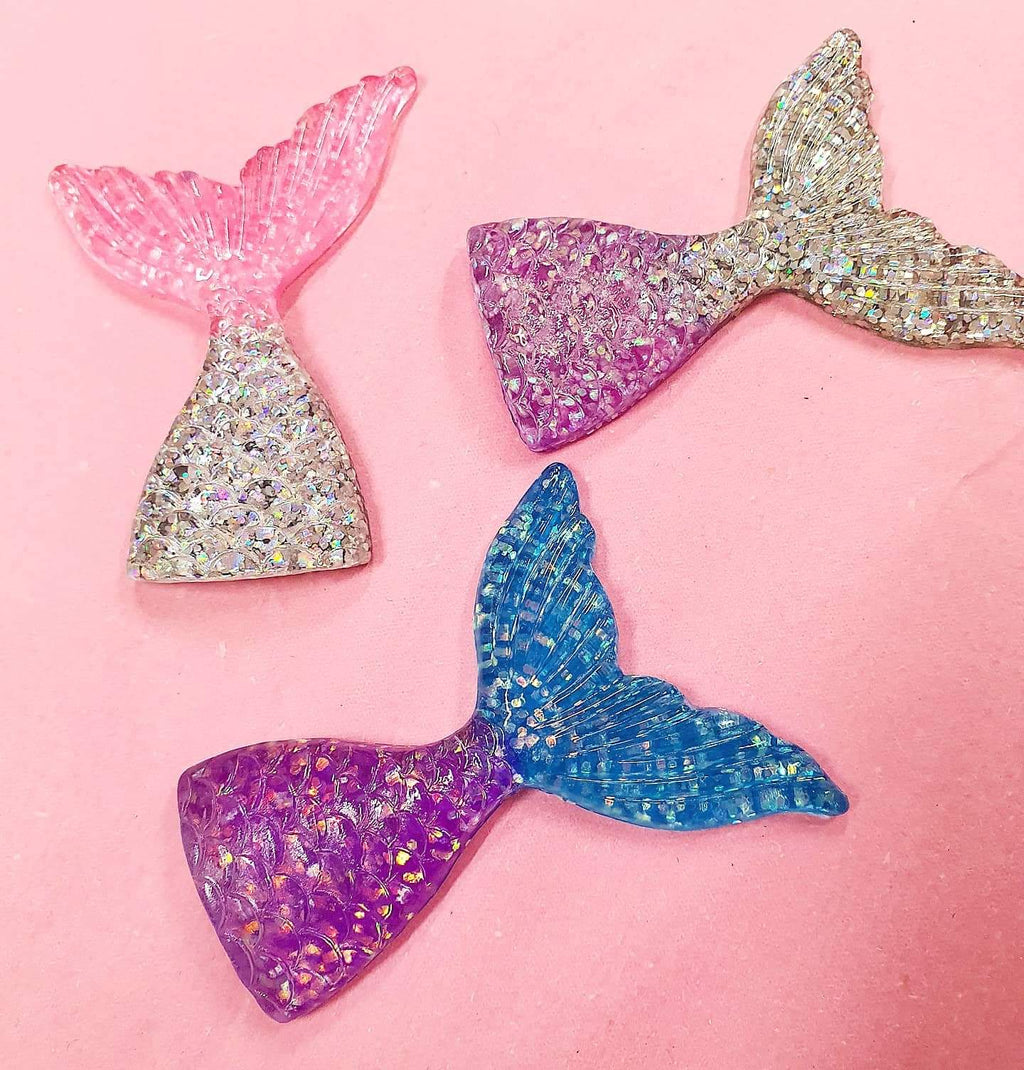 XXL JUMBO Mermaid Tail Charm x1