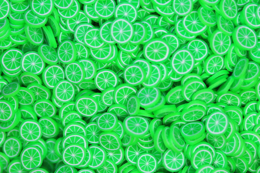 LIME FIMO PIECES