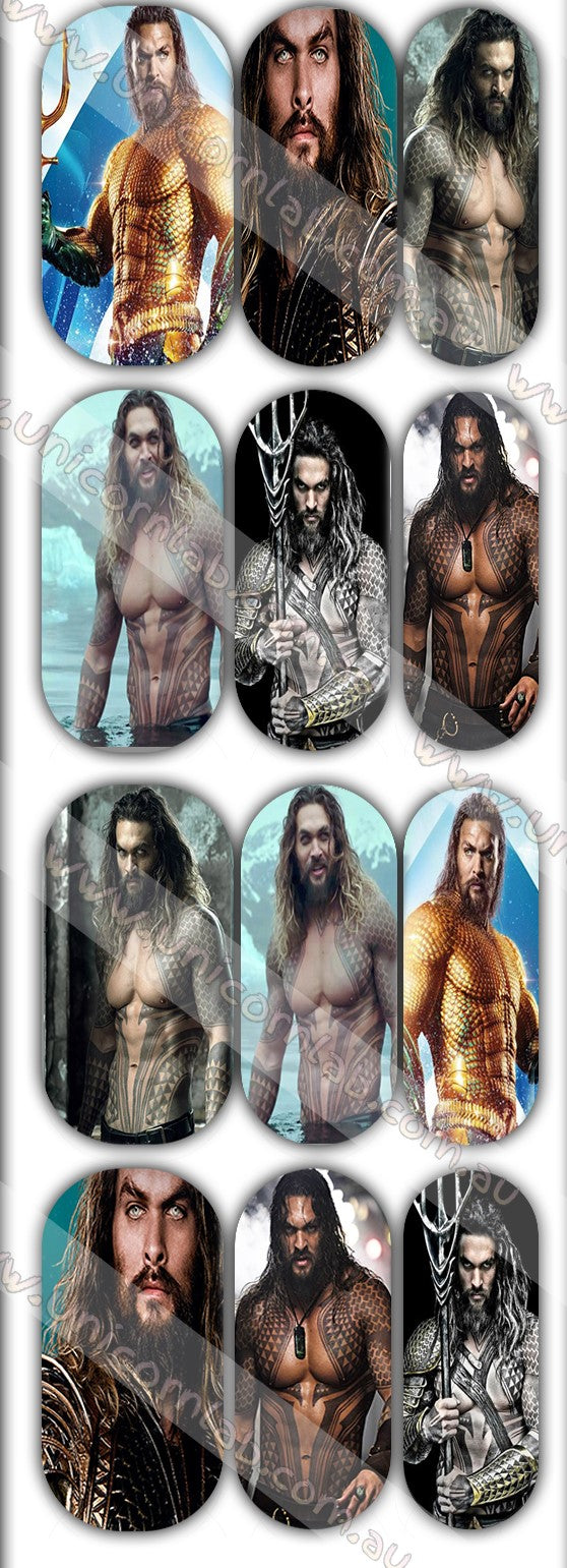 Jason Momoa Waterslide Decals - Emerson Crystals