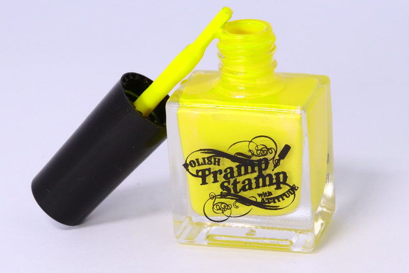 Stamping Polish - Mellow Yellow 10ml