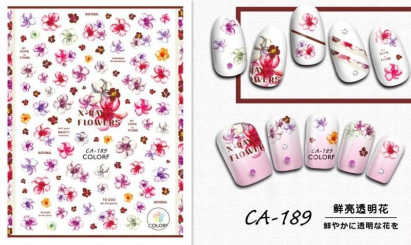 Nail Sticker - Design CA189