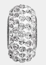 Crystal Pave Pendant 13.5mm Bead (81101) - Emerson Crystals