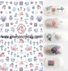 Nail Sticker - Design EC455 - Emerson Crystals