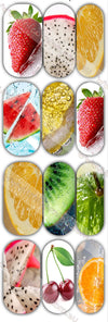 Fruit Waterslide Decals - Emerson Crystals