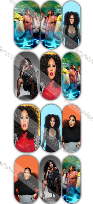 Lizzo Waterslide Decals