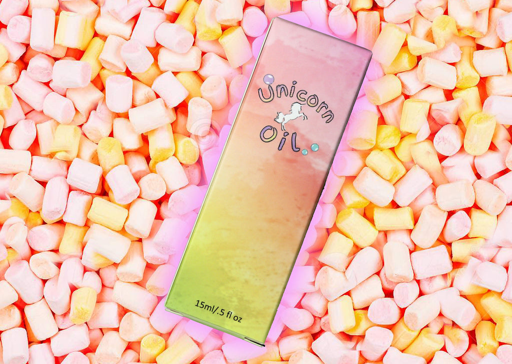 Marshmallow Unicorn Cuticle Oil 15ml - Emerson Crystals