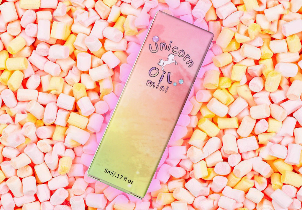 MINI Marshmallow Unicorn Cuticle Oil 5ml - Emerson Crystals