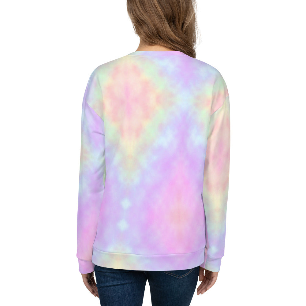 Tye Dye Tattoo Unicorn Unisex Sweatshirt - Emerson Crystals