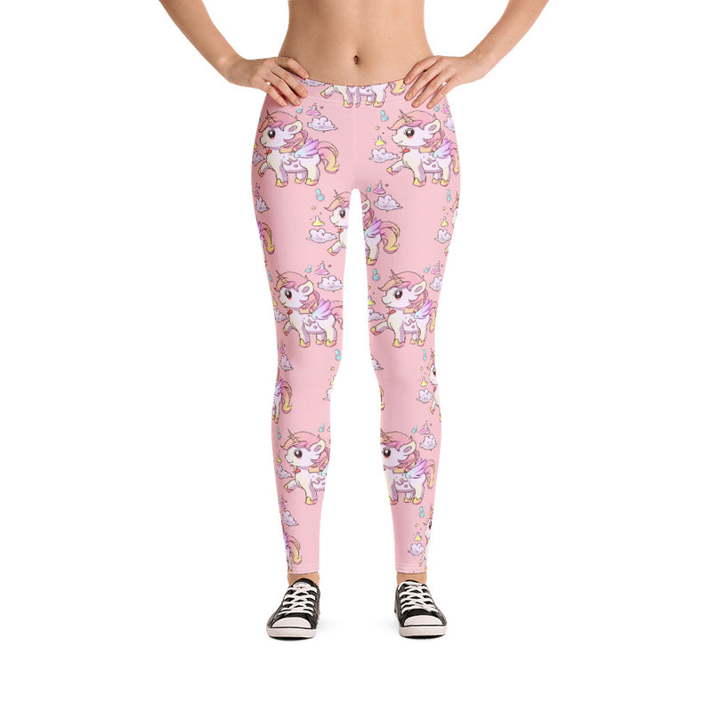 Pink Lulu Leggings - Emerson Crystals
