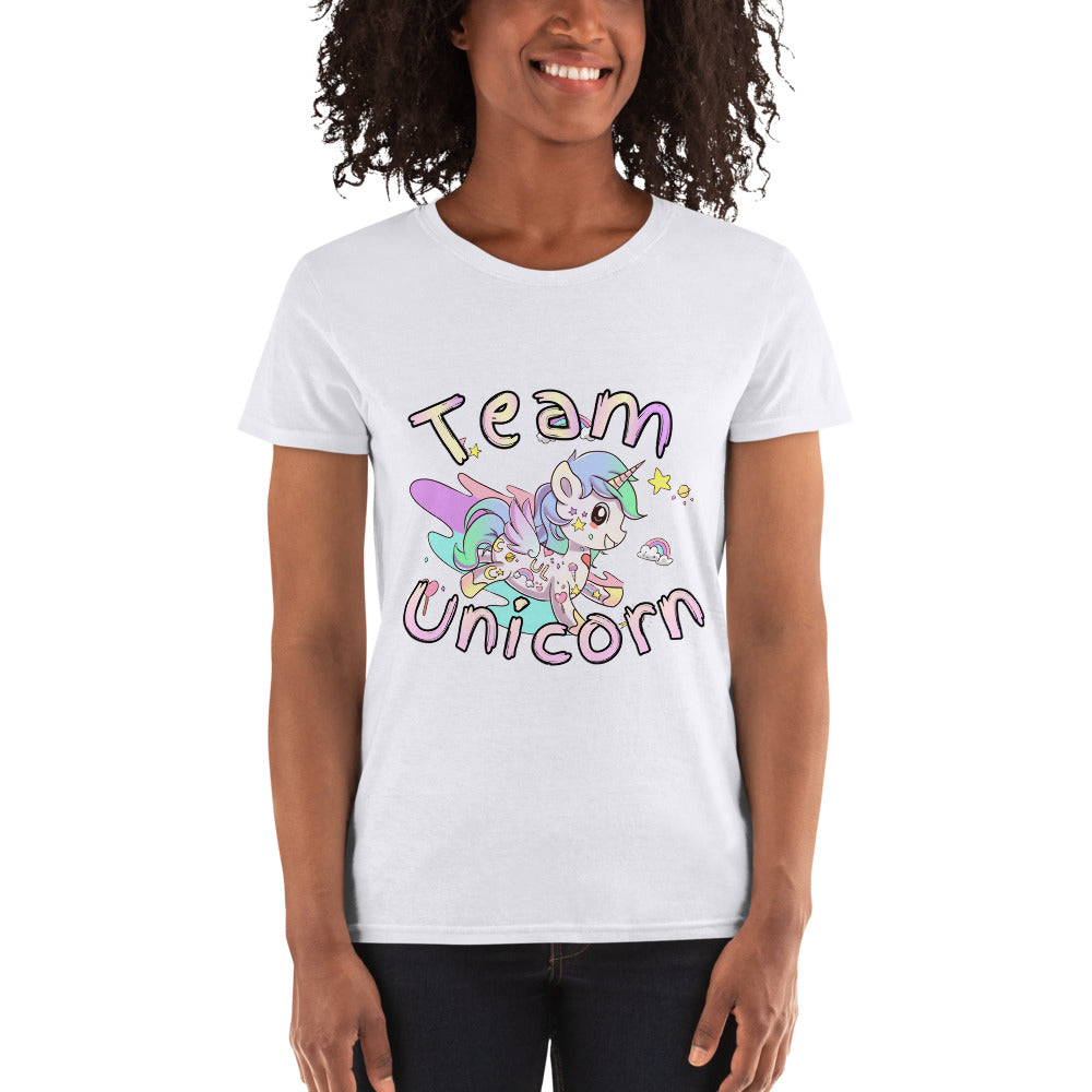 Women's Team Unicorn t-shirt - Emerson Crystals