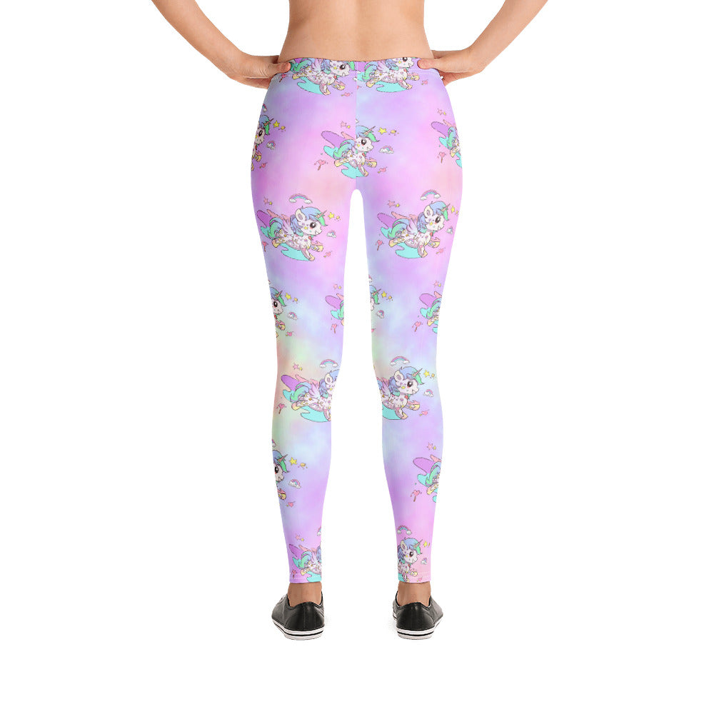 Tie Die Tattoo Leggings - Emerson Crystals