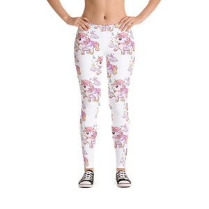 White LuluLeggings - Emerson Crystals