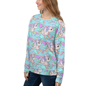 Black Tattoo Unicorn Unisex Sweatshirt - Emerson Crystals