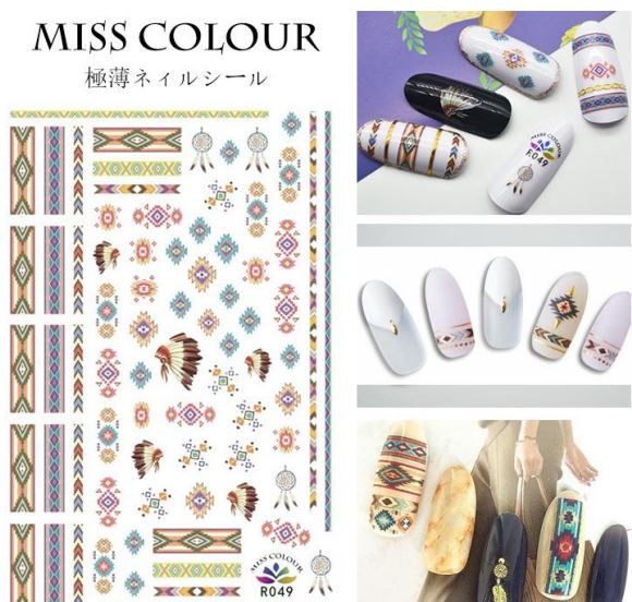 Nail Sticker - Design MC049