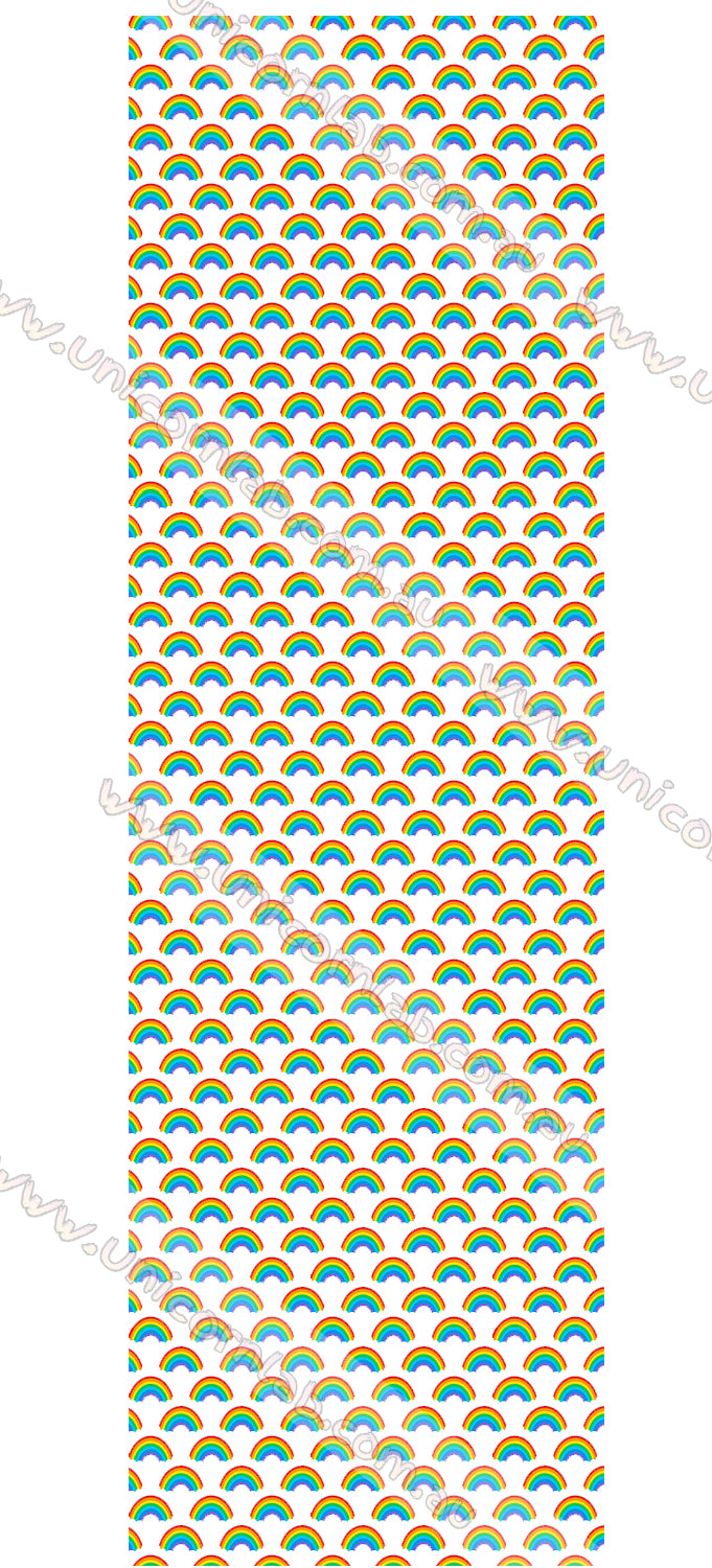 Rainbows Waterslide Decals