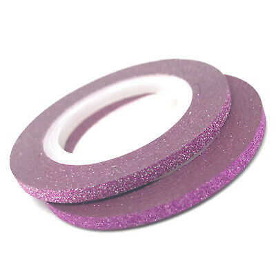 3mm Pink glitter tape - Emerson Crystals