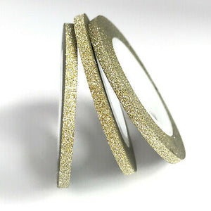 3mm Gold glitter tape - Emerson Crystals