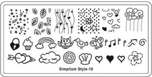 Stamping Plate - SS16 - Emerson Crystals