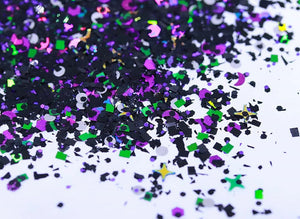LIMITED EDITION Black ink Glitter