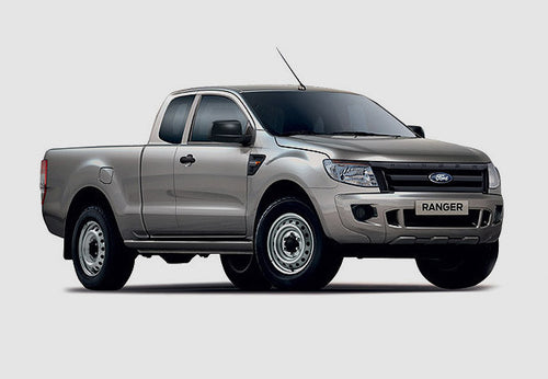 Tri-fold hard cover | Ford Ranger Open (Ext.) Cac, 1.75m bed