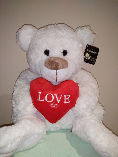Kissabelle Bear 40cm (heart sounds)