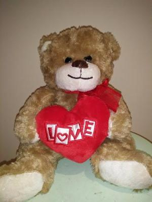 Love Heart Bear 25cm
