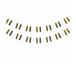 Deluxe Shaped Garland - Metallic
