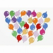 Table scatters - Balloons and stars mix