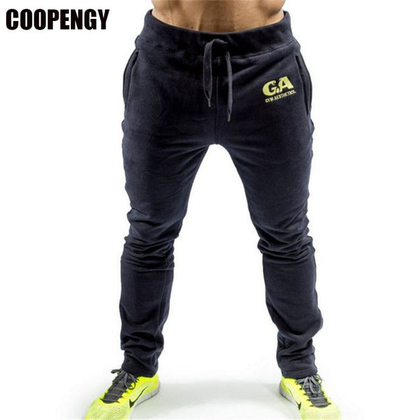 Men's Cotton Performance Fitness Workout Pants