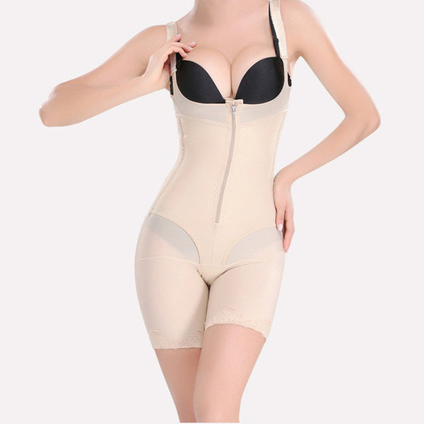 Shoulder Strap Underbust Bodysuit