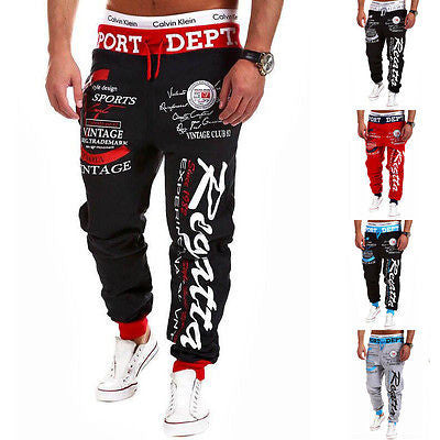 Mens New Jogger Dance Sportwear Baggy Harem Pants