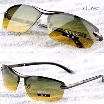 Day & Night Vision Multi-function Polarized Sunglasses