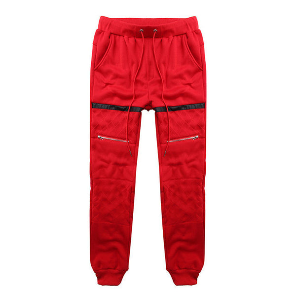 Winter Warm Joggers Fleece Lined Baggy Long Sweat Pants