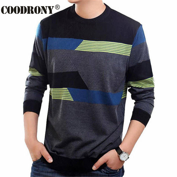 O-Neck Wool Mens Sweater
