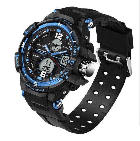 Men Diving Camping Waterproof Sports Watch
